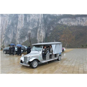 新款12人座景区电动旅游观光车